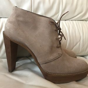 Cole Haan Nike Air Stephanie Lace Up Boots 9.5